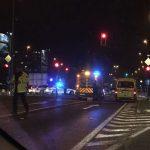 V prometni nesreči na Celovški cesti poškodovana ena oseba