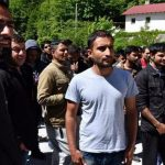Štirje ilegalni migranti v Beli krajini ugrabili domačina