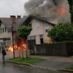Novo glede velikega požara v Ljubljani