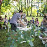 Kreativni sejem v oazi zelenja pred gradom Fužine
