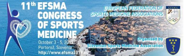 Kongres športne medicine prvič v Sloveniji