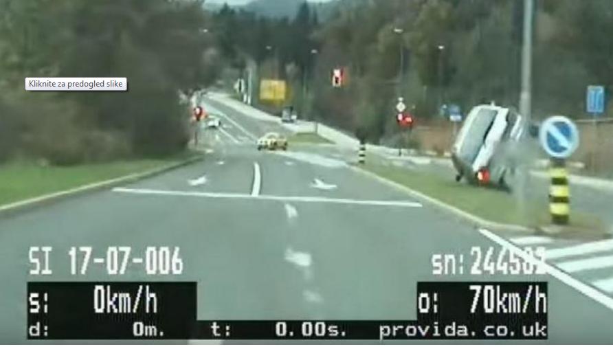 VIDEO: Po Ljubljani bežal pred…
