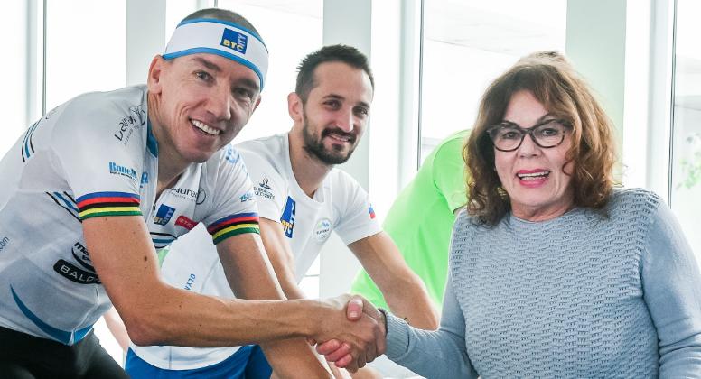 24 urni kolesarski maraton za podporo zvezi prijateljev…