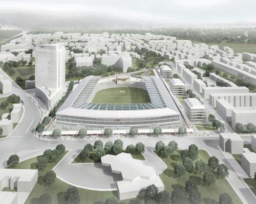 Plečnikov stadion še ne bodo…