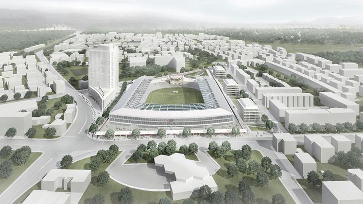 Plečnikov stadion še ne bodo kmalu gradili