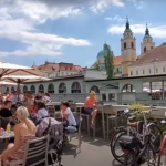 Ljubljana kmalu spet turistično mesto