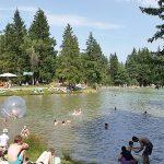 Bloško jezero in okolica, najboljša ohladitev v tem letnem času