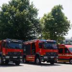 Nova vozila za ljubljanske gasilce